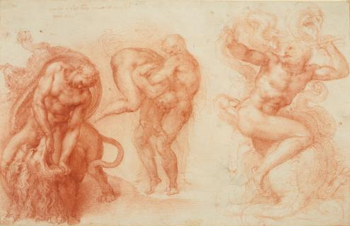 1. Michelangelo_Three Labours of Hercules_HM Queen Elizabeth II_Windsor